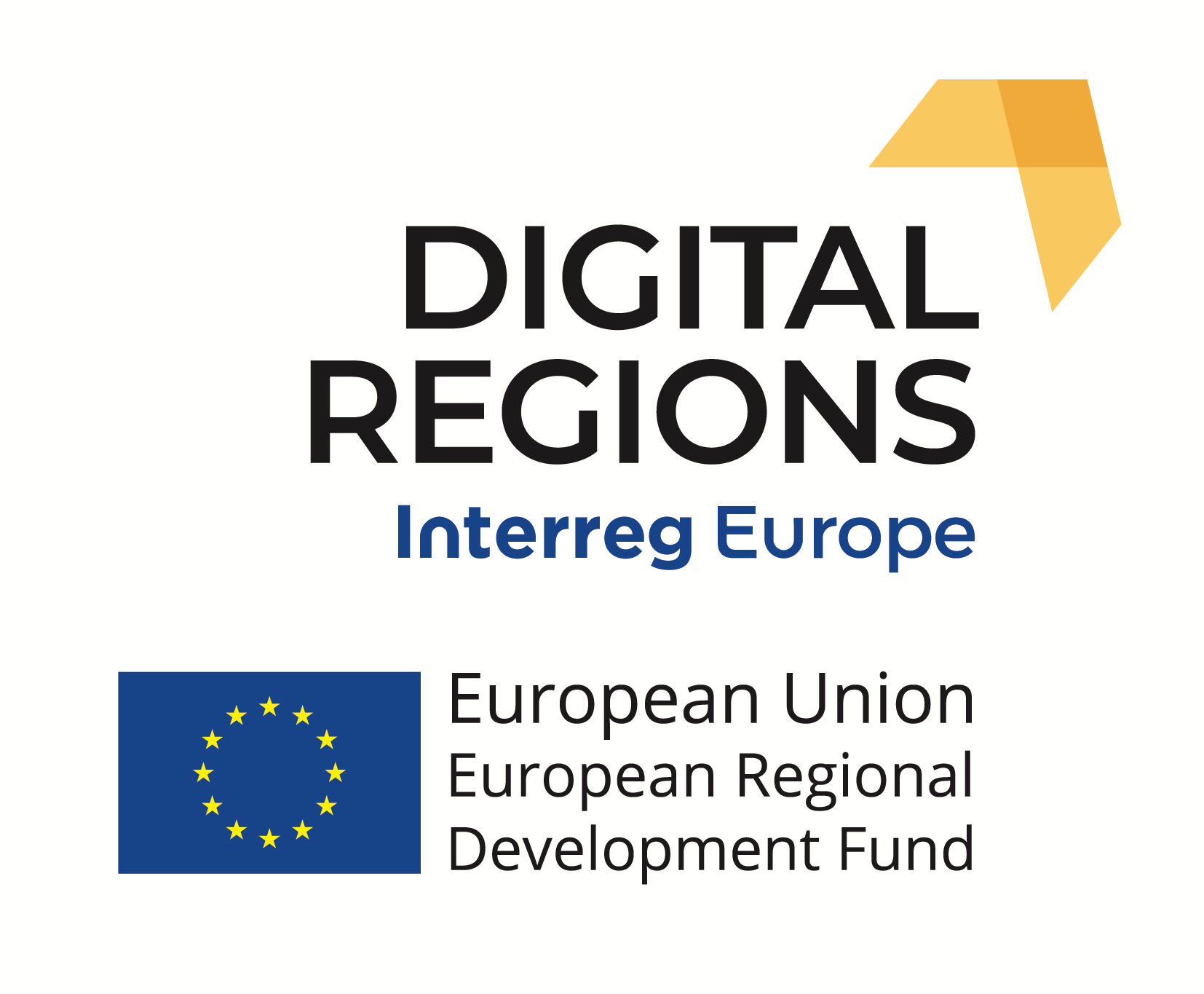 DIGITAL REGIONS EU FLAG